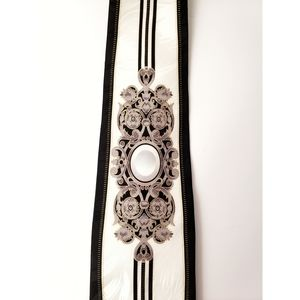 Elegant Black & White Tie